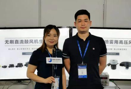 宁波奉化伟成电机有限公司张经理接受中国电机发展网的专访